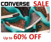 CONVERSE SALE - up to 60% OFF