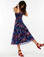 Phoebe Print Midi Dress