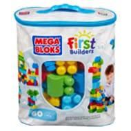 Any 2 for £20! Mega Bloks First Builders 60pc Bag