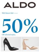 Love SHOES? Love HALF PRICE SHOES? ALDO Shoe Sale Has Started - 50% OFF