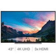 Toshiba 43V6863DB 43 Inch 4K Ultra HD Smart TV Only £299.89