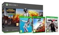 Xbox One X 1TB PUBG Bundle + FIFA 19 + Forza Horizon 4 + NBA 2K19