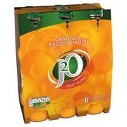 Half Price J20 Orange and Passion Fruit 6 X 275Ml