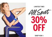 All Sport 30% Off