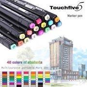 TOUCHFIVE Graphic Art Manga Sketch Marker Pen Set