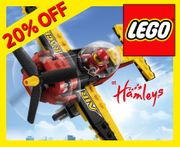 Save 20% on Selected LEGO! at Hamleys