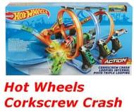 Hot Wheels Corkscrew Crash Track Set £39.99 + Free Delivery