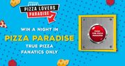 Win an Overnight Stay in Pizza Paradise