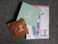 Free Fabric Swatches and Hot Chocolate Sachet