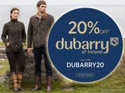 20% off Dubarry of Ireland
