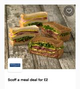 Wh Smith's Meal Deal for Only £2