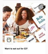 Eat out for Only £3