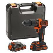 45% OFF AT AMAZON: BLACK+DECKER 18V Cordless Hammer Drill *4.6 STARS*