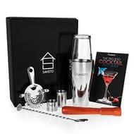 Premium 8 Piece Cocktail Set with Boston Cocktail Shaker