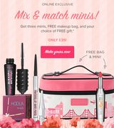4 Minis for the Price of 3 + FREE Bag