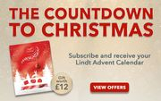 Free Lindt Advent Calendar When You Subscribe at Magazinedirect
