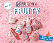 Save 20 Percent on Selected Soap and Glory Tropical