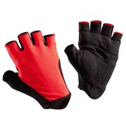 B'TWIN Roadr 500 Cycling Gloves - Red
