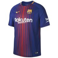 NIKE Barcelona FC Kids Football Replica Home Shirt - Blue Red