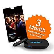 NOW TV Smart Box & 3 Month Entertainment Pass & Sky Store Voucher Free C&C