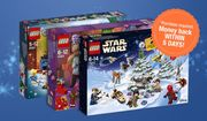 Get £15 Cashback on Any Lego Advent Calendar