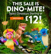 ❤Online Only Dig up £12 Dinos with This Dino-Mite Sale! ❤