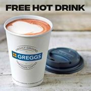 Greggs Free Hot Drink (Normally up to £2)