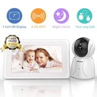 BIGASUO Baby Monitor Wireless Video Baby Monitor