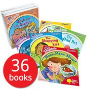 Songbirds Phonics Collection - 36 Books (Collection)