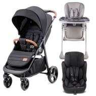 KinderKraft Grande Toddler Bundle (Black/Grey) - 59% OFF