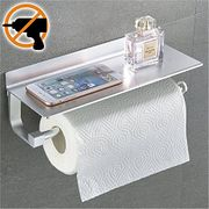 Kitchen Roll Dispenser + Aluminium Shelf, Glue + 3M Self-Adhesive.