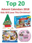 20 Best Toy Advent Calendars 2018 Kids Will Love This Christmas! UK TOP 20