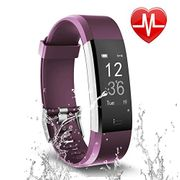 Letsfit Fitness Tracker HR, Activity Tracker Watch with Heart Rate Monitor