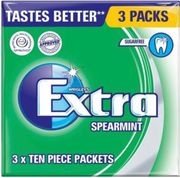 Wrigley Extra 3 Different Flavours - 75p Instore at Poundstretcher
