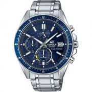 Casio Edifice Stainless Steel Double Dial Bracelet Watch Free Delivery