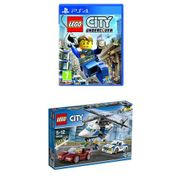 "LEGO City Undercover (PS4) & LEGO 60138 ""High Speed Chase"" Building Toy"
