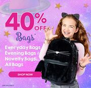 40% off Bags at Claire's