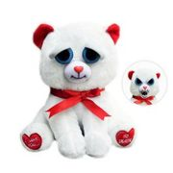 "William Mark 8.5"" Taylor Truelove Feisty Pets Plush Stuffed Valentine's Bear"