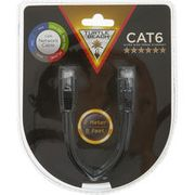TURTLE BEACH Black Cat 6 Ultra High Speed Ethernet Cable
