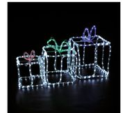 3 Gift Boxes Rope Light Outdoor Use Ideal World