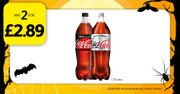 Coca Cola Drinks Any 2 for £2.89