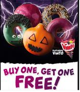 BOGOF Voucher for 17th Oct When You Sign up to Friends of Krispy Kreme