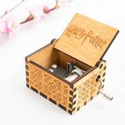 80%OFF Wooden Music Box, Antique Carved Wood Musical Box