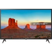 LG 43-Inch UHD HDR Smart LED 4K TV with Freeview Play - Black (2018 Model)