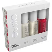 Essie Winter Collection Mini Nail Varnish Kit Long Lasting Chip Resistant 3x5ml