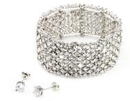 Free Ice Bracelet & Earring Set