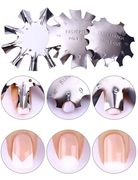 Nail Art Template Manicure Edge