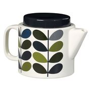 Orla Kiely Ink Multi Stem Teapot Only £25