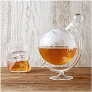 Glass Globe Whisky Decanter (IWOOT)