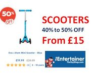 Who Wants a Scooter for Christmas? 40%-50% off Scooter Deals at the Entertainer